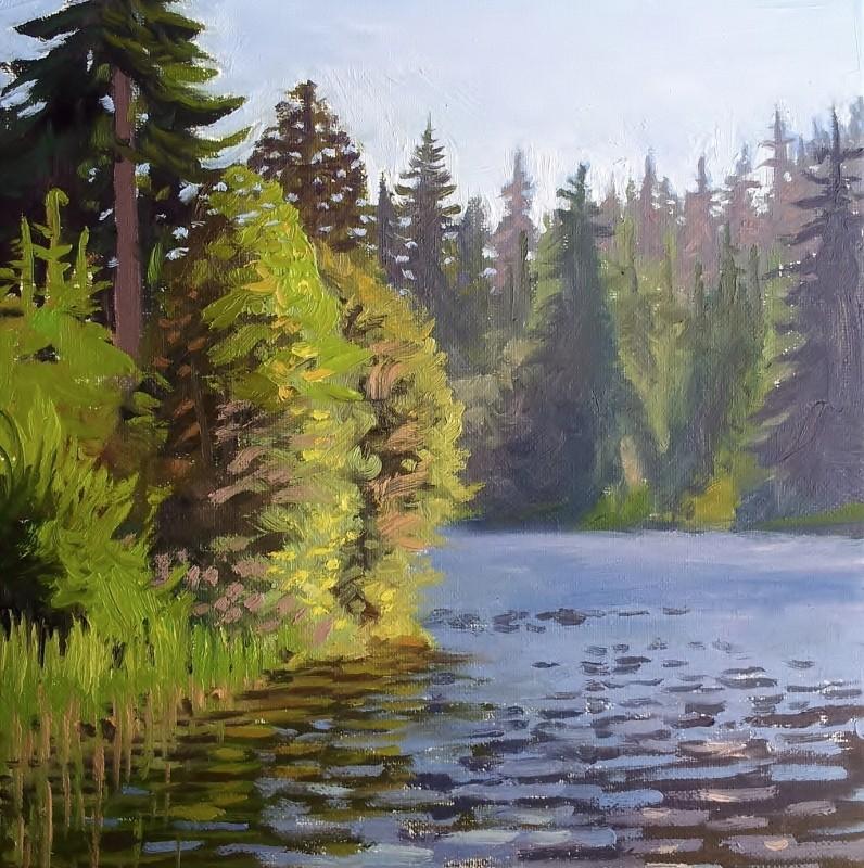 Nita Lake - 11x14inch
