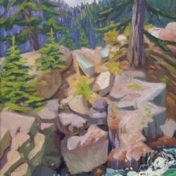 plein air landscape painting