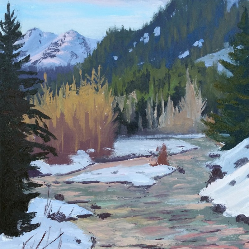 Cheakamus River Winter